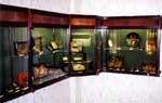 Cabinet with various artists works